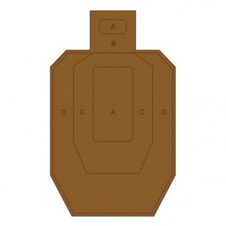 Challenge Targets IPSC-CB Cardboard Target