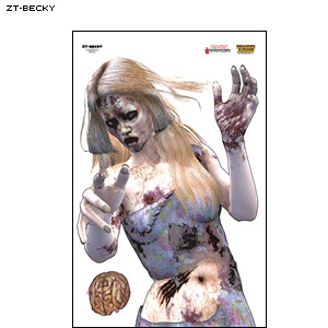 Zombie Target - Becky